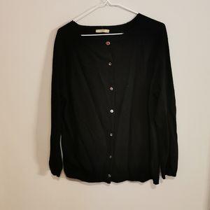 100% cashmere cardigan size XL